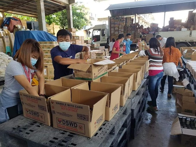 DSWD ensures availability of food packs ready for LGU augmentation
