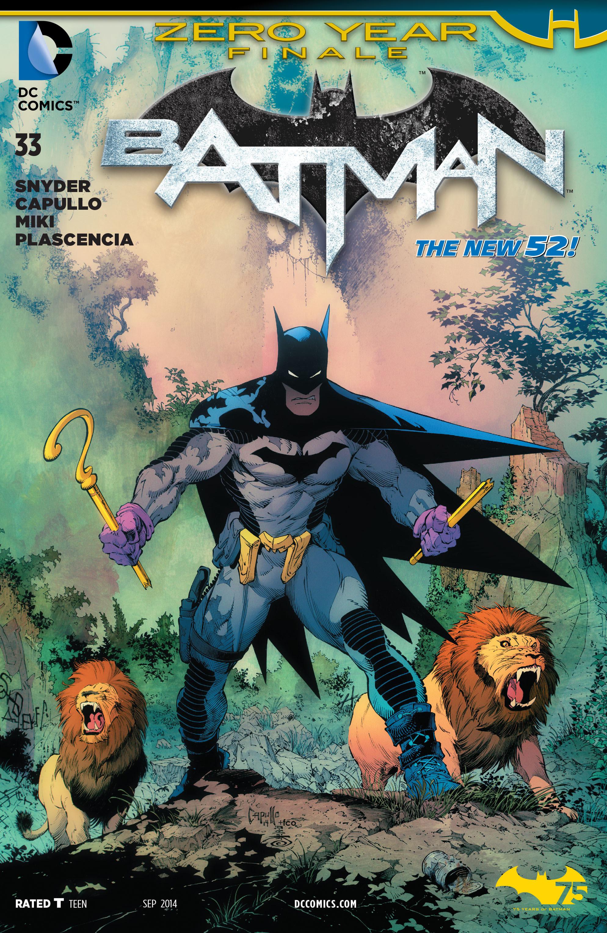 Resultado de imagem para BATMAN # 33