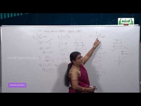 12th Business Maths புள்ளியியல் Definite Integral Kalvi TV