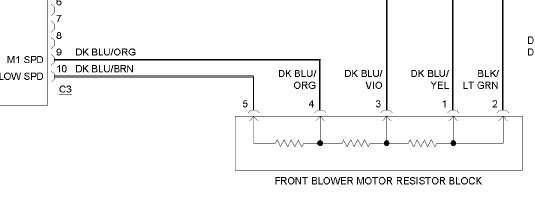 Ac Blower Motor Wiring Diagram
