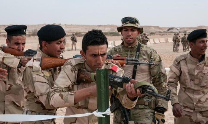 Soldados iraquianos