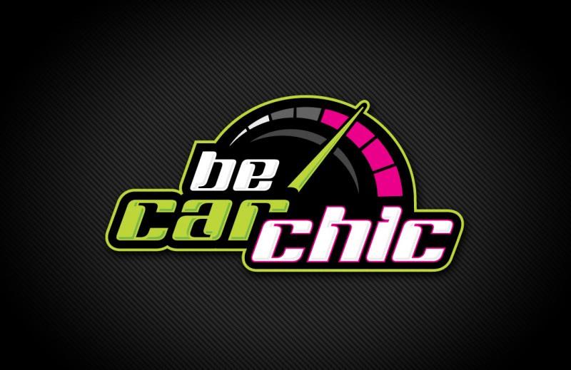Automotive Logo Design   BeCarChic.com   Website Design