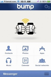 Must have iPhone App: Bump