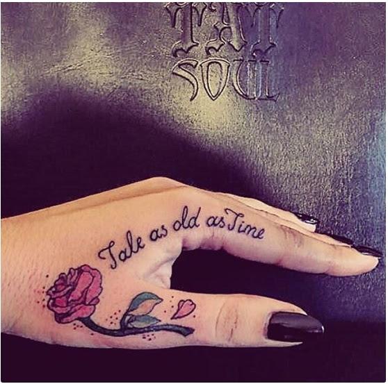 20 Impresionantes Tatuajes De La Bella Y La Bestia Que Te Harán