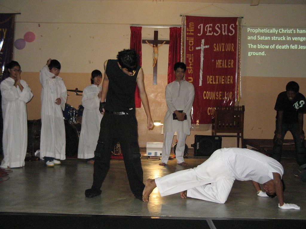 Satan hit hard on Jesus