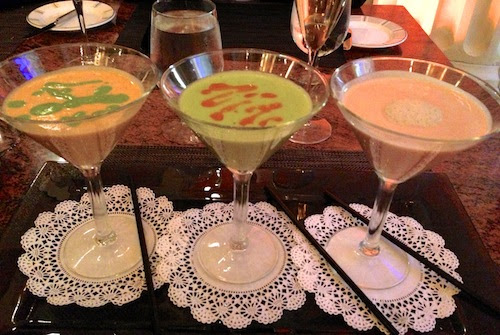 Three-martini fish soup