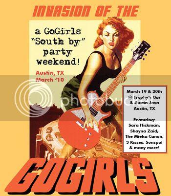 Invasion of the GoGirls @SXSW