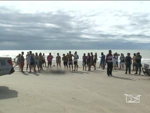 Integrante de facção é morto por supostos policiais em praia do MA (Foto: Reprodução/TV Mirante)