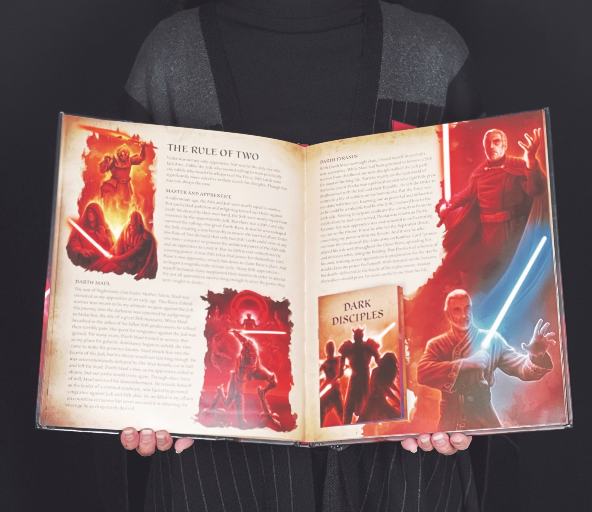 Star Wars: Secrets of the Sith Review   Anakin and His Angel