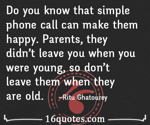 Parents They Didnt Leave You When You Were Young So Dont Leave