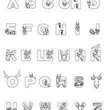 510 Alphabet Coloring Pages In Spanish For Free