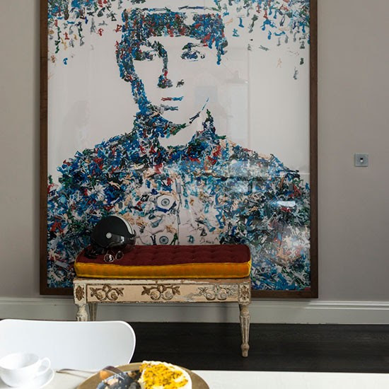 Living room wall art | London family home | House tour | PHOTO GALLERY | Livingetc | Housetohome.co.uk