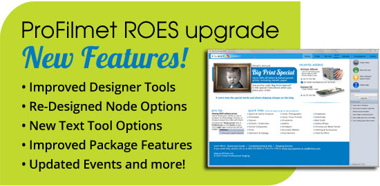 Pro Filmet ROES Upgrade Features