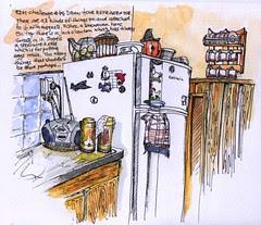 EDM challenge # 49= draw your refrigerator