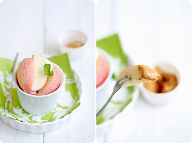 Crunchy Apples & Peanut Butter