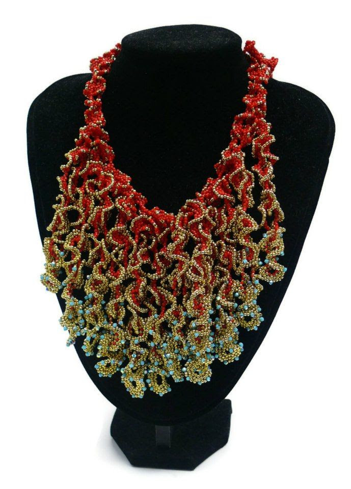 Beaded Necklaces from various Artists featured Eye Candy in Bead-Patters.com Newsletter!