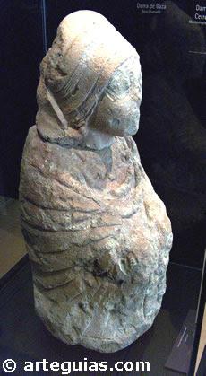 Escultura ibérica. Dama de Caudete