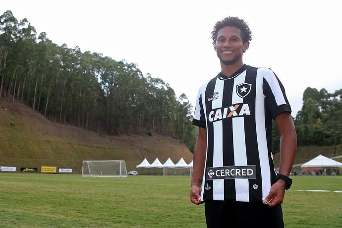 Jonas, Botafogo (Foto: Vitor Silva/SSPress/Botafogo)