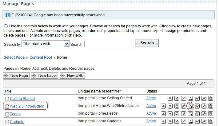 using xml access to export and import portal pages web portal club