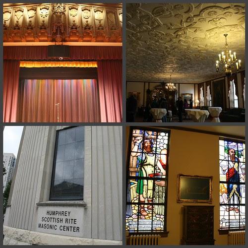 Picnik collage Scottish Masonic building