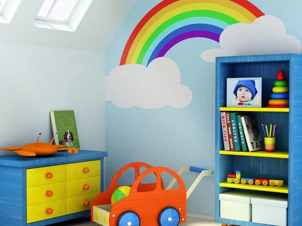 Mädchen Zimmer Wand Farben Einrichtung