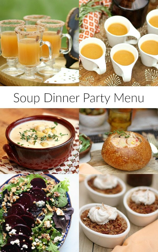 Soup Dinner Party Menu - Recipe Girl