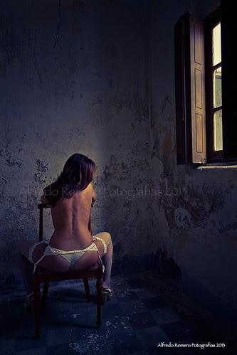 La chica de ayer by Alfredo Romero Fotografias 