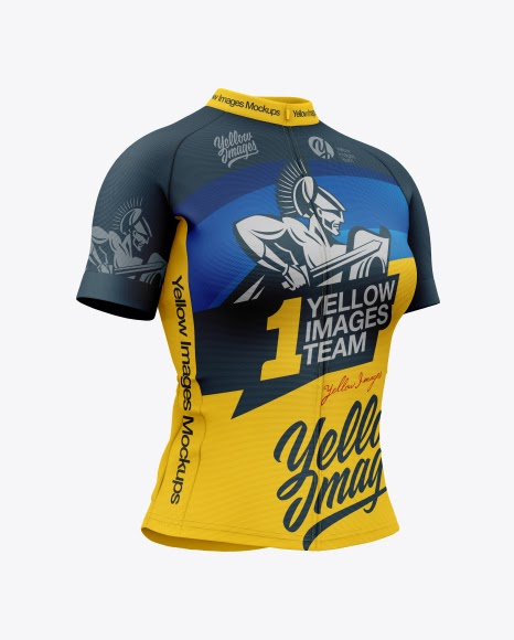 Download Women`s Cycling Jersey Jersey Mockup PSD File 108.92 MB ...