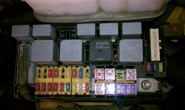2011 Chevy Aveo Fuse Box Wiring Circuit