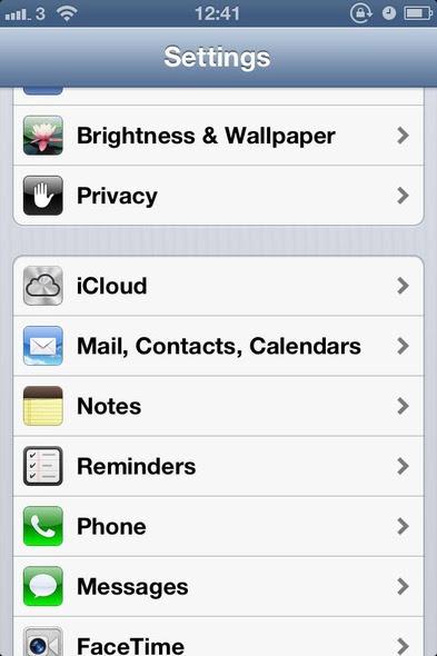 2 كيف تقوم بتصدير جهات اتصال الآيفون إلى iCloud [شرح]