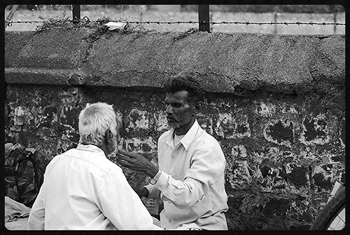 Street Side Barbers Are Craftsman Too by firoze shakir photographerno1