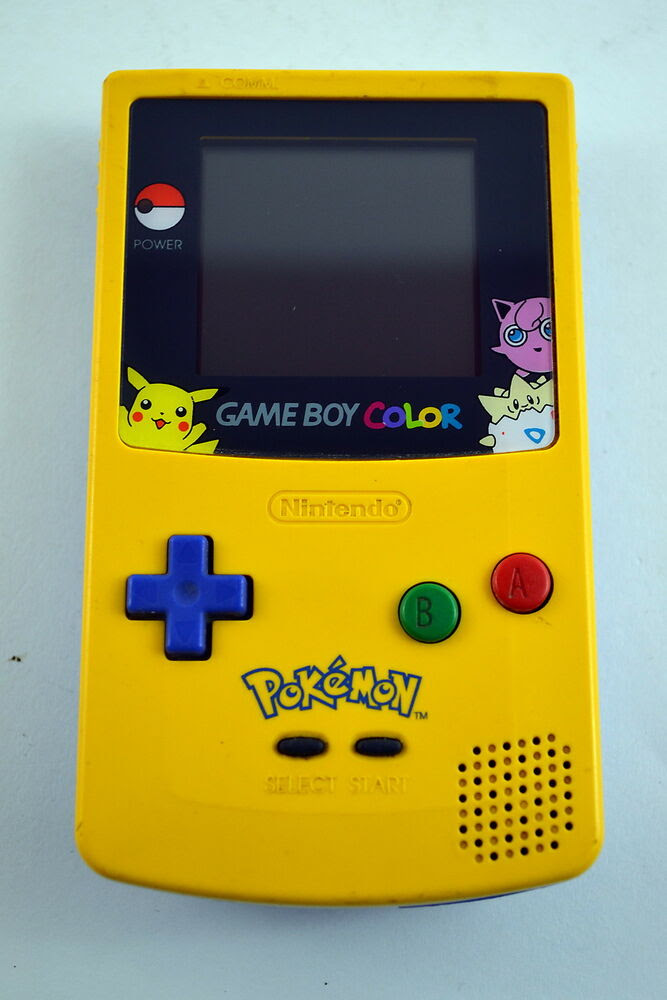 Nintendo Game Boy Color Pokemon Edition System Console ...
