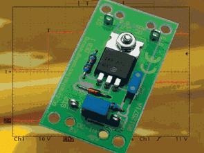 Bộ điều chỉnh dòng 5 Amp với IRF4905