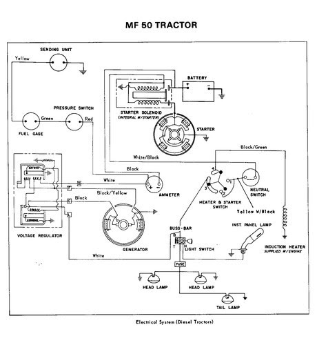 32 mf 135 wiring diagram - wiring diagram list mf 175 wiring diagram diesel tractor ignition switch wiring diagram wiring diagram list