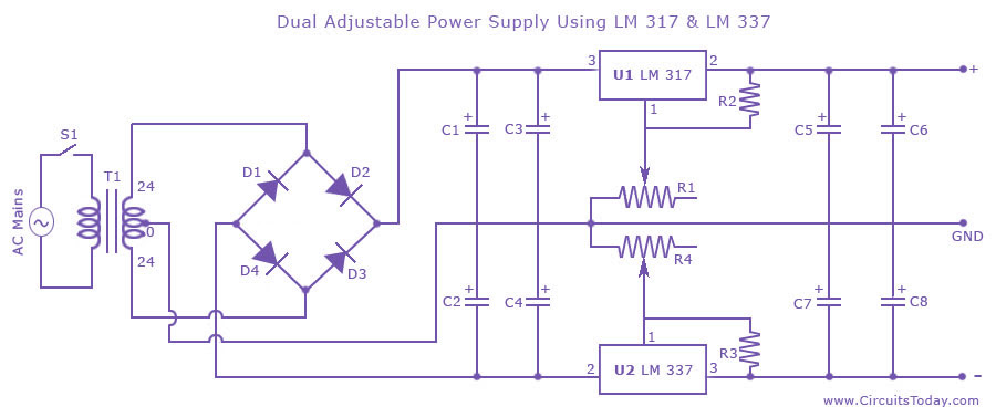 Variable Dc Power Supply Pcb Layout Pcb Designs