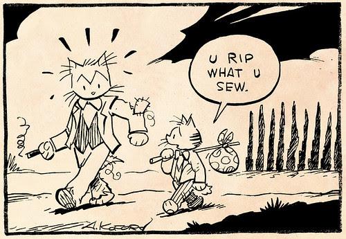 Laugh-Out-Loud Cats #2088 by Ape Lad