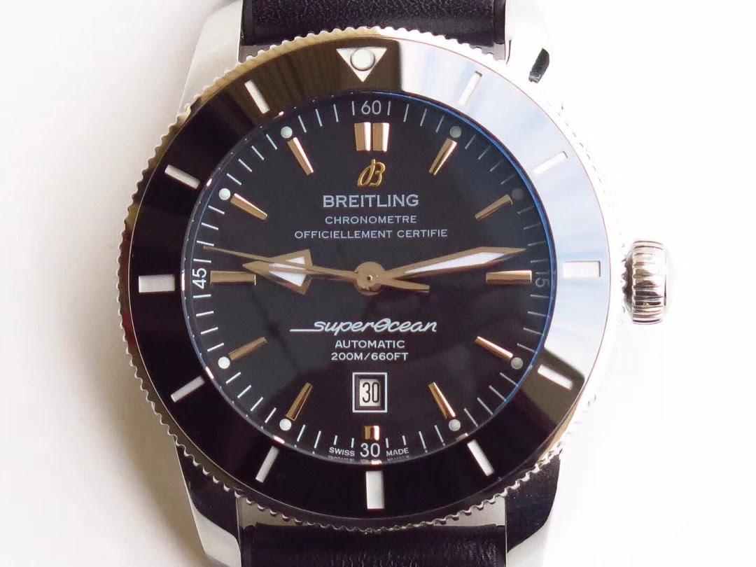 Replica Breitling Superocean II Black Dial