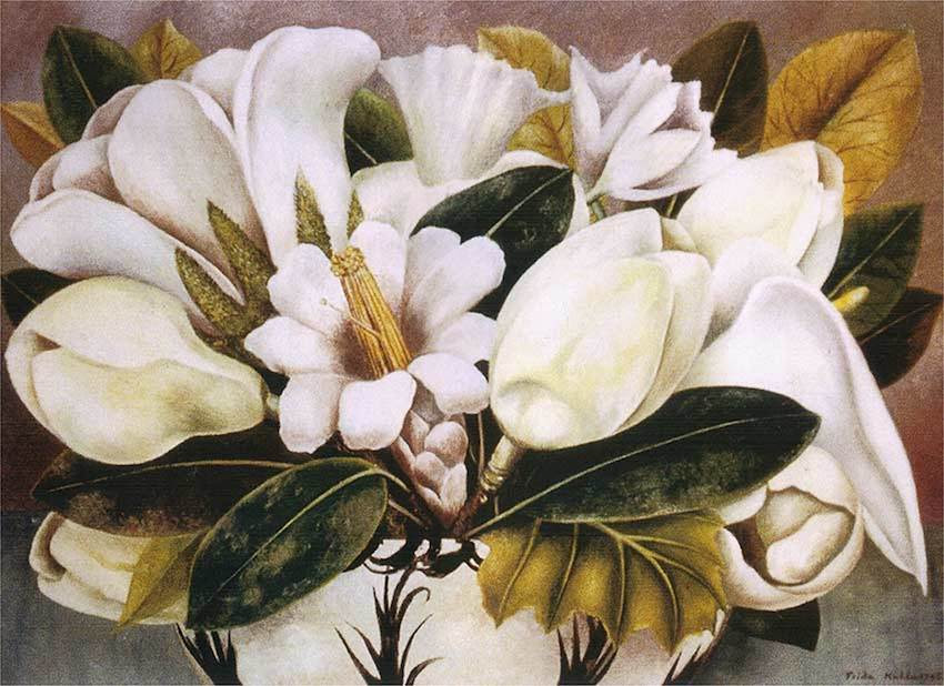 Magnolias, 1945 - by Frida Kahlo