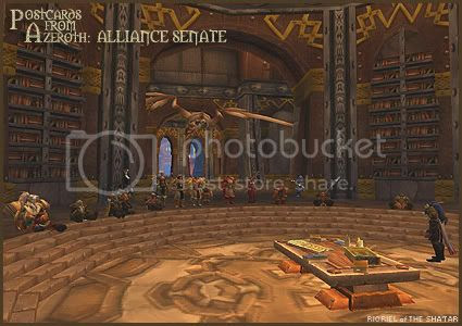 Postcards of Azeroth: The Alliance Guild Senate, by Rioriel Ail'thera