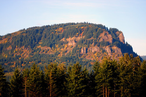 fall on Columbia River