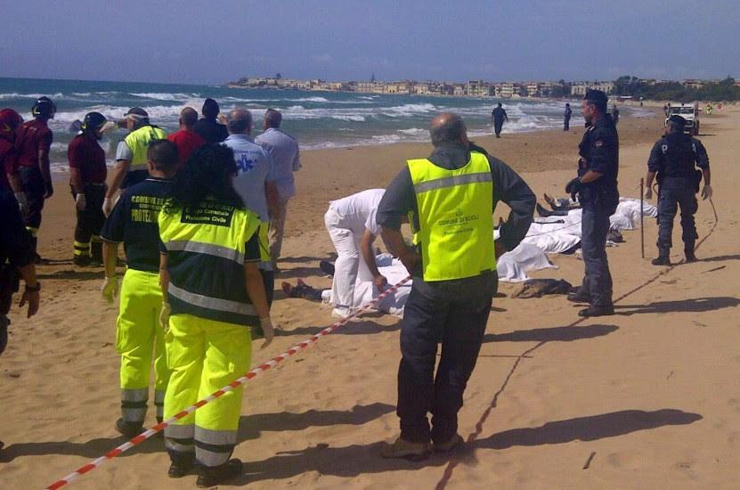 Mueren intentando alcanzar la costa italiana