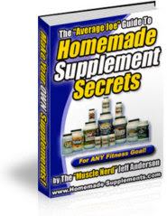 How To Make Your Own Home Made Supplements