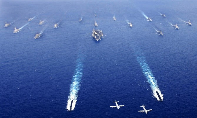 Που βρίσκεται ο 6ος Στόλος; Γιατί είναι εκεί εδώ και 10 μέρες; Μας κοροϊδεύουν…