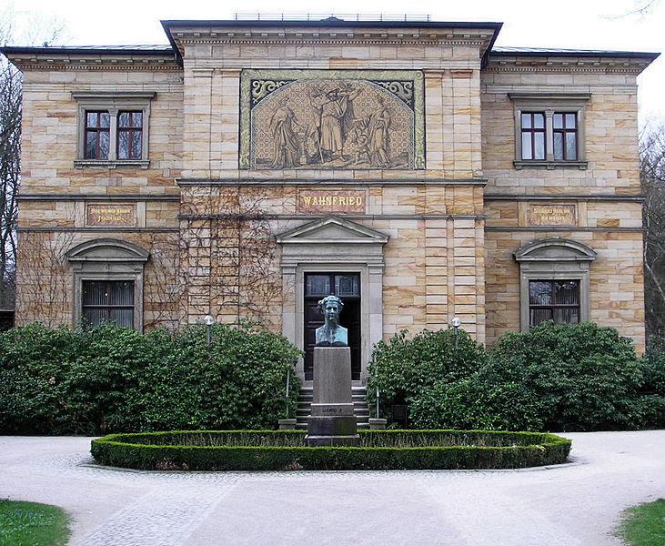 Licencia Histórica: El clan Wagner. Wahnfried, la casa familiar en Bayreuth.