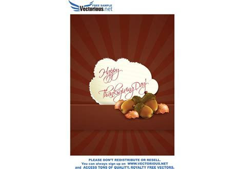 Happy Thanksgiving Day Vector   Download Free Vector Art
