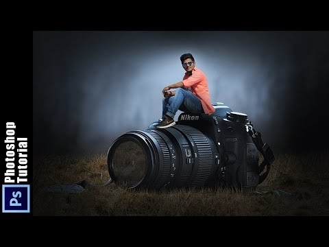 PHOTOSHOP MANIPULATION TUTORIAL  | Boy Love His Camera Photoshop Manipul...