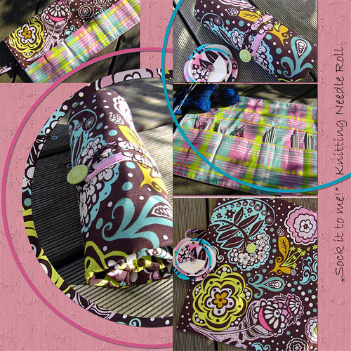 Custom Knitting Needle Roll