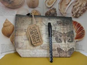 Tim Holtz Pencil Pouch & Fude Ball Pen