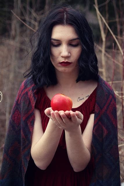 apple girl wild  photo  pixabay