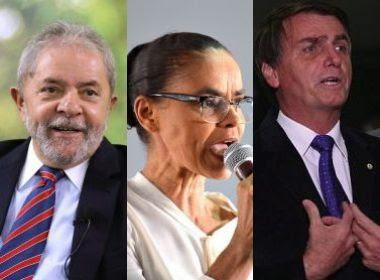 Datafolha: Lula reduz margem com evangélicos; Marina e Bolsonaro